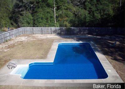 Inground Pool Services Baker FL