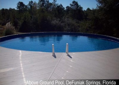 Above Ground Pool Services DeFuniak Springs FL