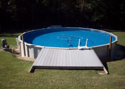 Above Ground Pool Installation Cantonment FL